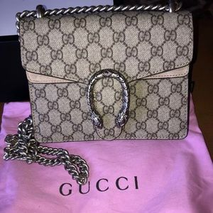 NWOT Gucci Dionysus mini GG Supreme crossbody Bag